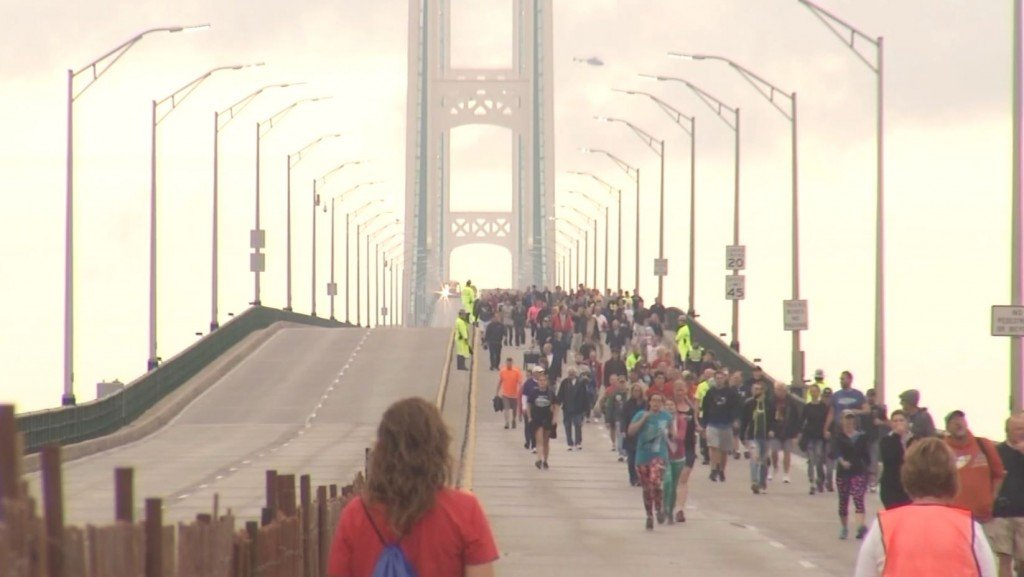 Mackinac Bridge Walk Cancellation