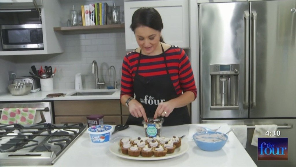 The Four: Michelle Bakes: Mini Coffee Cheesecakes