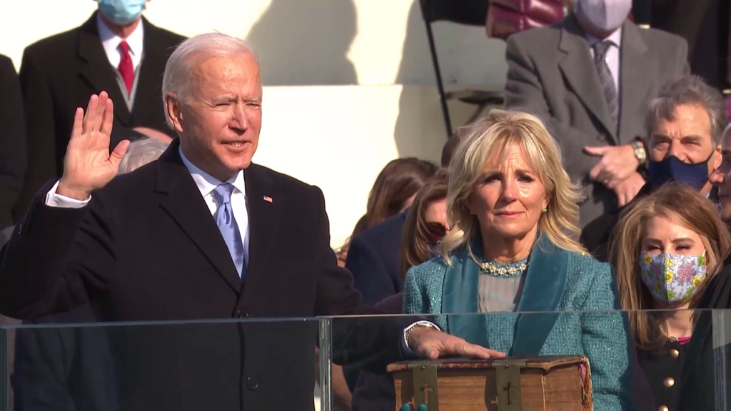 01 20 21 Biden Inauguration Pkg Updatemov00 00 08 01still001