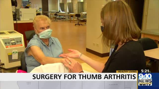 Healthy Living: Surgery For Thumb Arthritis