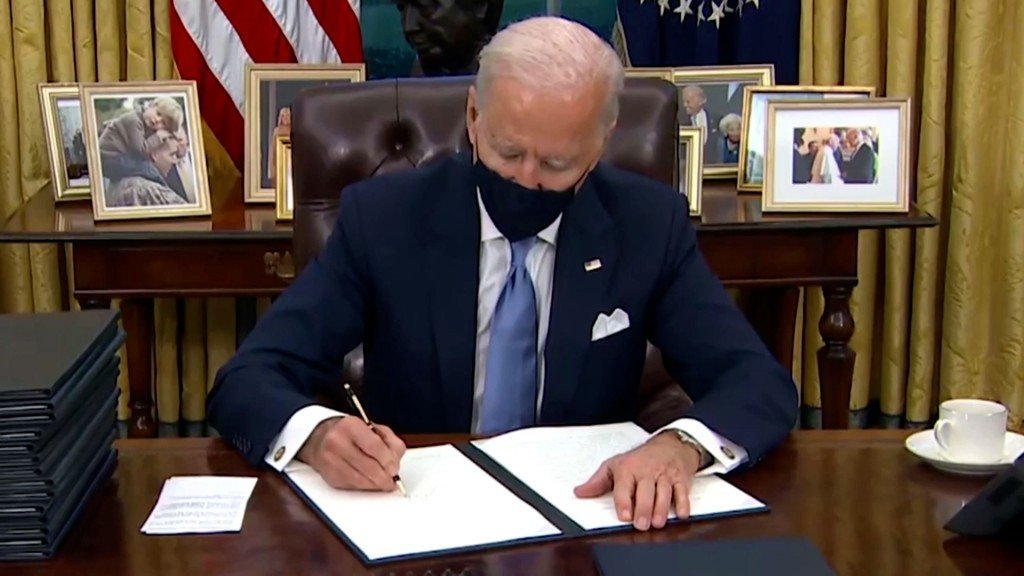 Cbs Biden First Full Day Pkg 40180