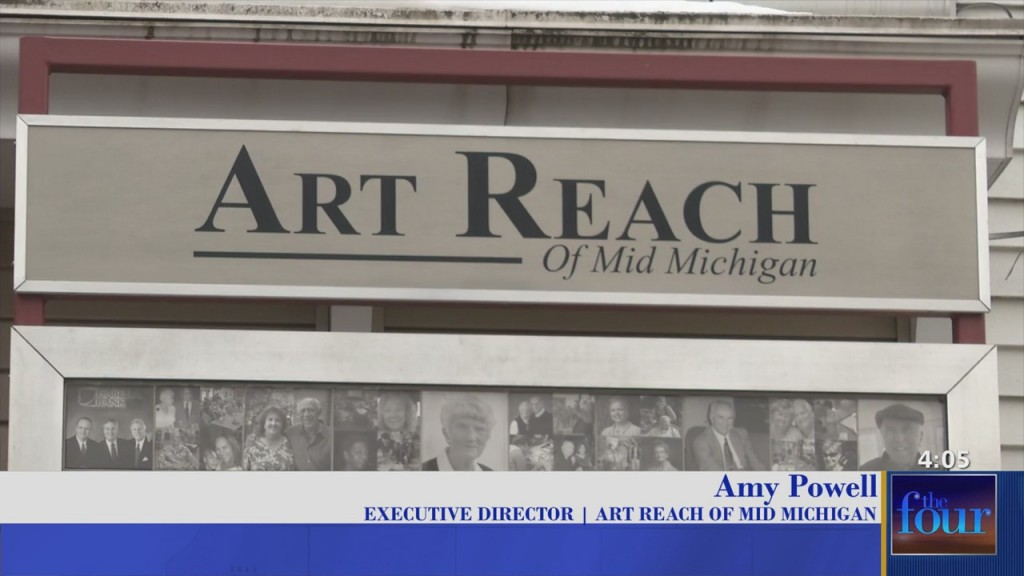 The Four: Art Reach Of Mid Michigan Executive Director To Cut, Dye, Design Hair To Raise Money