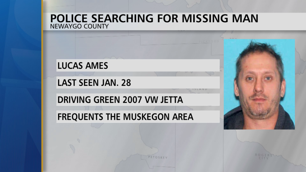 Lucas Ames Missing