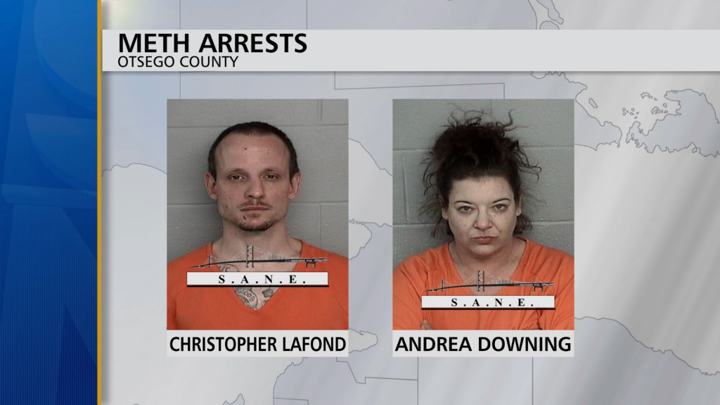 Otsego County Meth Arrests