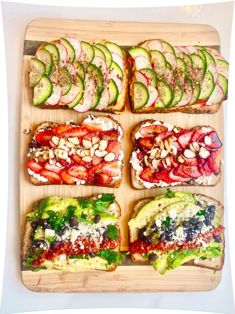 Colorful Toasts 3