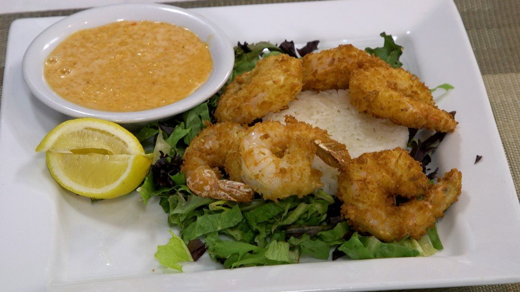 Coconut Shrimp With Mango Habanero Sauce