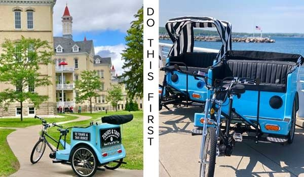 Happytown Rickshaw Tours Traverse City 2