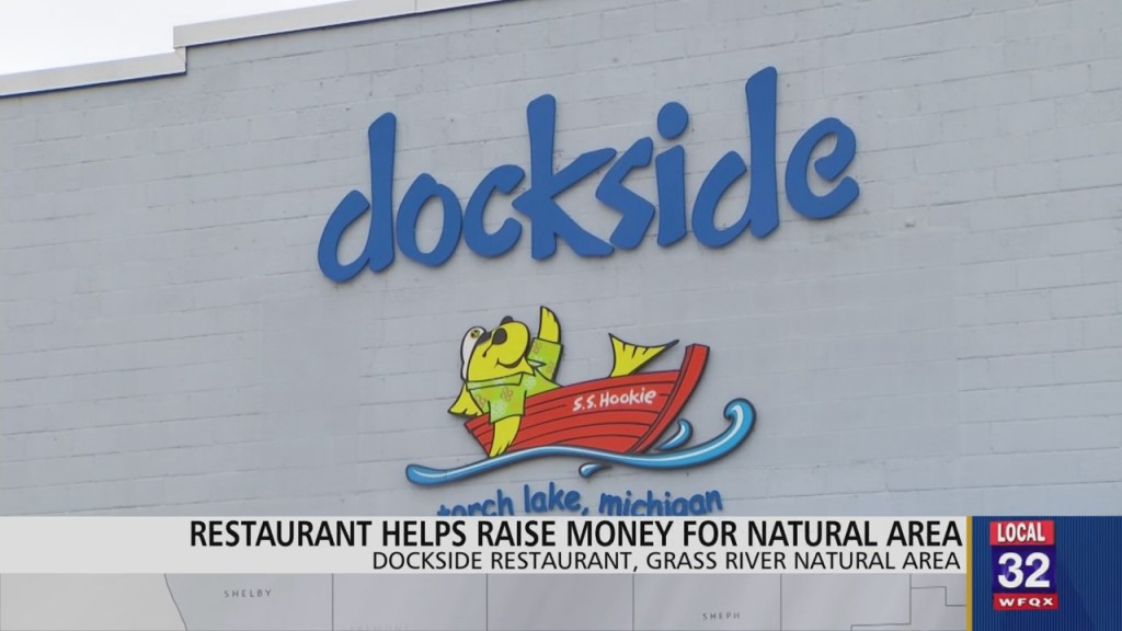 Dockside Restaurant Raises Money For Grass River Natural Area