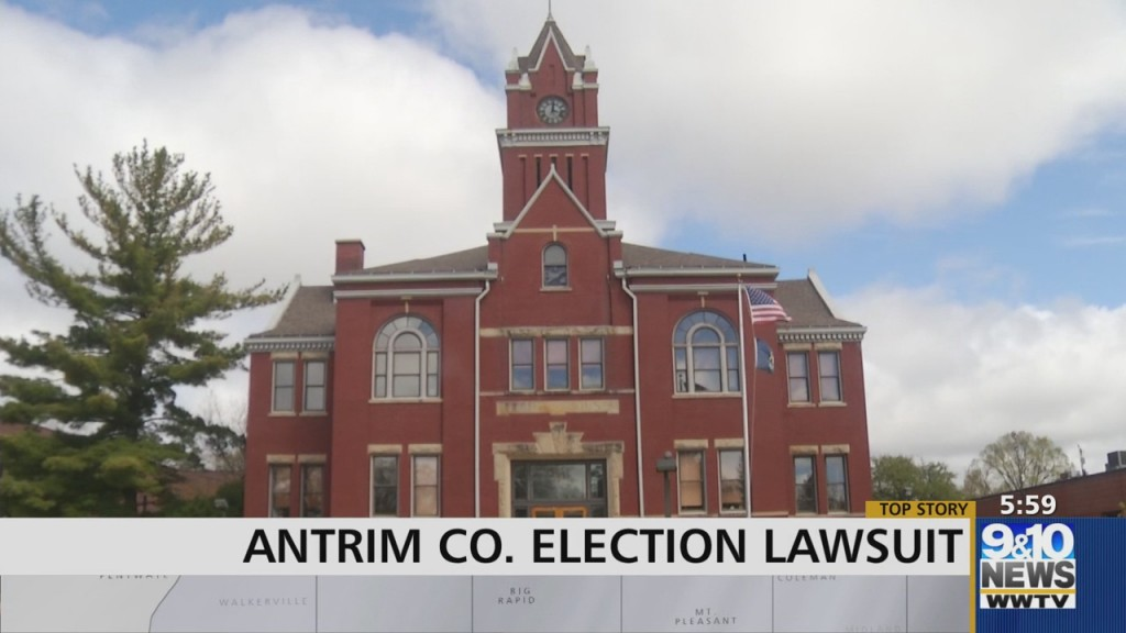 Antrim County Election Lawsuit Back In The Spotlight