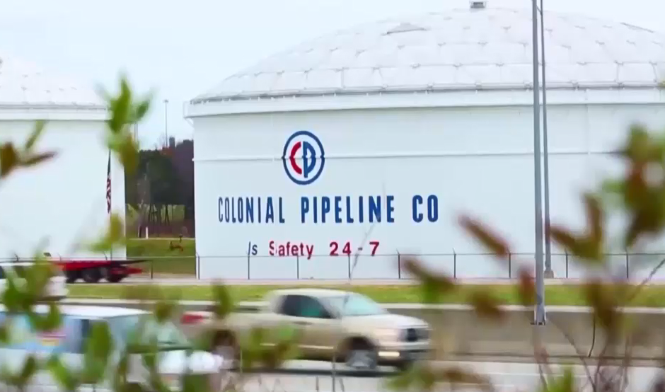 Colonial Pipeline Cbs Screenshot