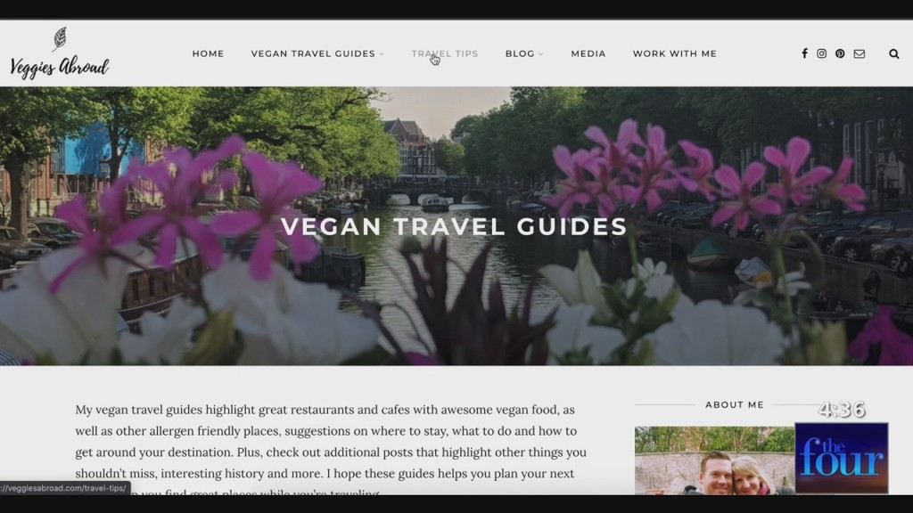 The Four: Traveling While Vegan