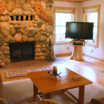 Amazing Northern Michigan Home: Log Home On Crooked River