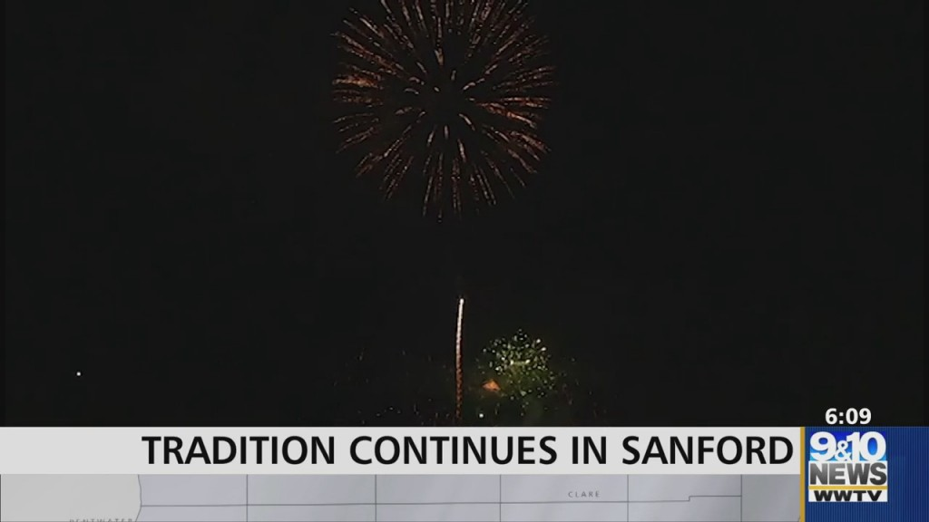 City Of Sanford Continues Traditional Fourth Of July Fireworks