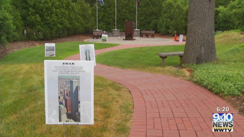 Grand Traverse Metro Fire Dept. Looking For Community Help To Finish 9/11 Memorial