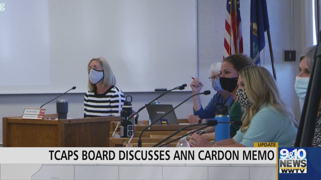 Tcaps Holds Meeting Over Release Of Memo Regarding Former Superintendent