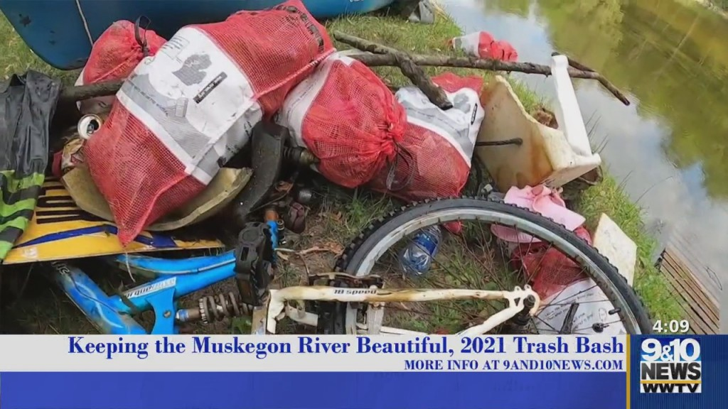 The Four: Connecting Community: 2021 Muskegon River Trash Bash