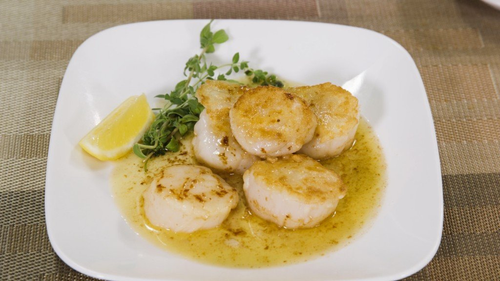 Scallops With Herbed Brown Butter
