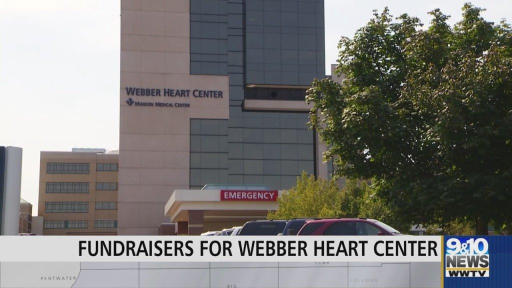 Fraternal Order Of The Eagles Gives Large Donation To Munson's Webber Heart Center