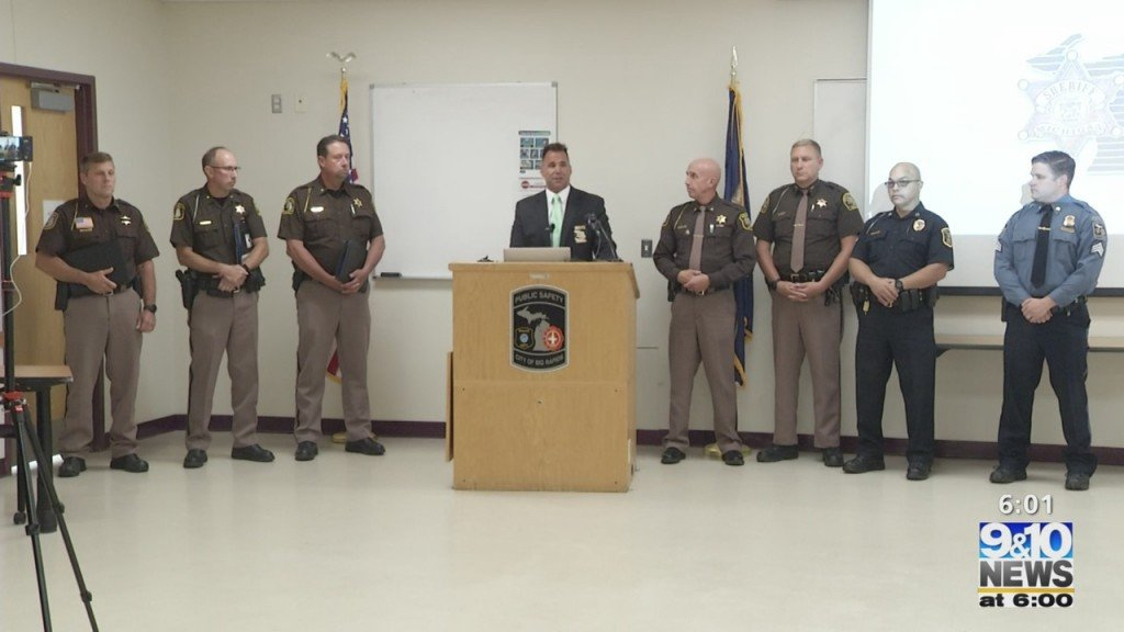 Michigan Sheriff Department's Join Forces To Complete Human Trafficking Sting