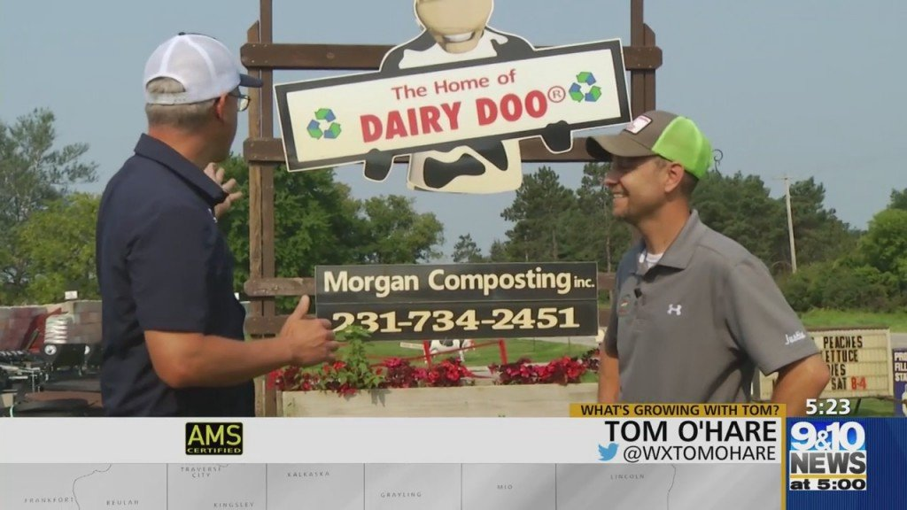 What's Growing With Tom: Making Dairy Doo