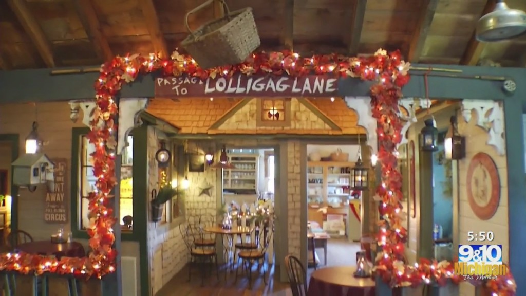 Mtm On The Road: Loafer's Glory Serving Up Homemade Pies And Michigan Goodies