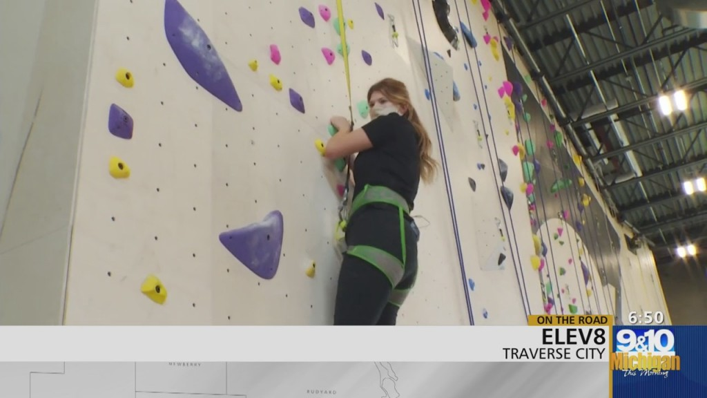 Mtm On The Road: Elev8 Offers Rock Climbing Experiences Pt.1