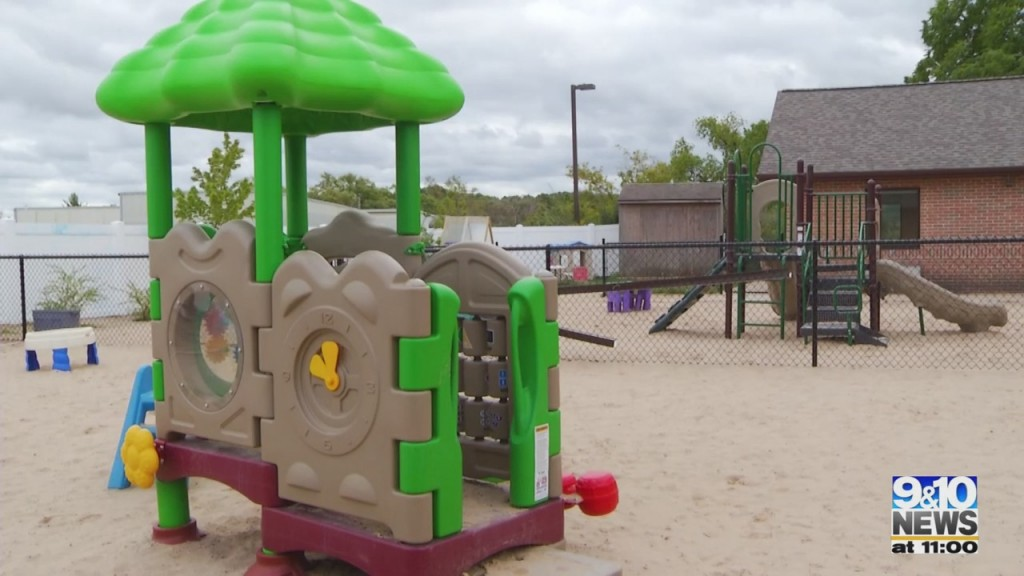 Munson Healthcare Dedicates Playground To Creator Of Onsite Childcare Services For Employees