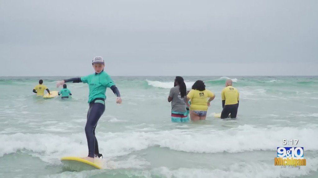Healthy Living: Surf Therapy