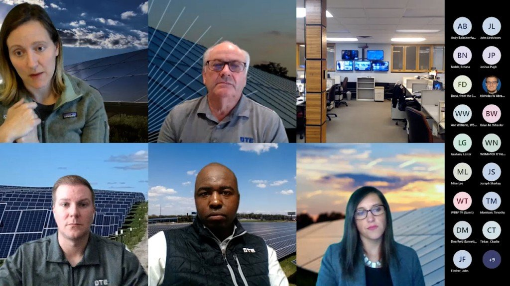 Consumers Energy And Dte Energy Announce Mi Community Solar Education Campaign Meeting Recording00 28 22 02still001