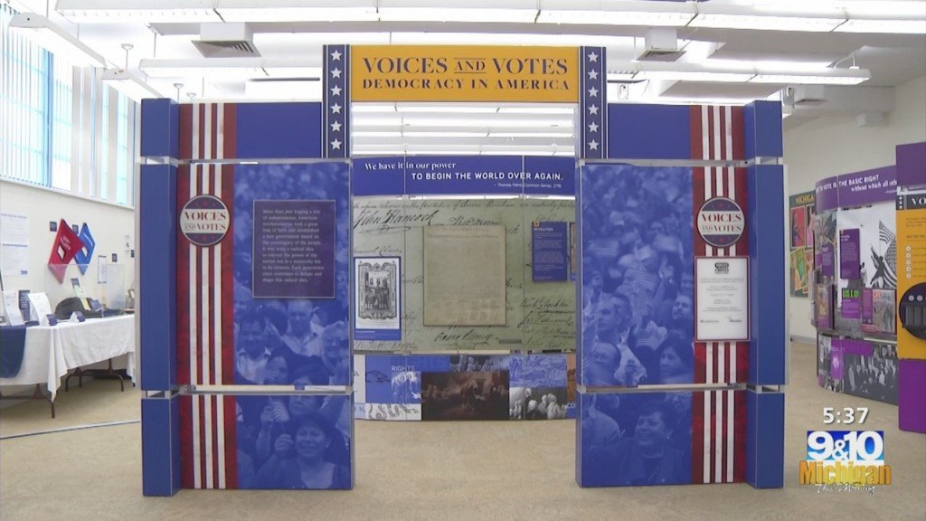 Smithsonian Exhibit At Chippewa River District Library
