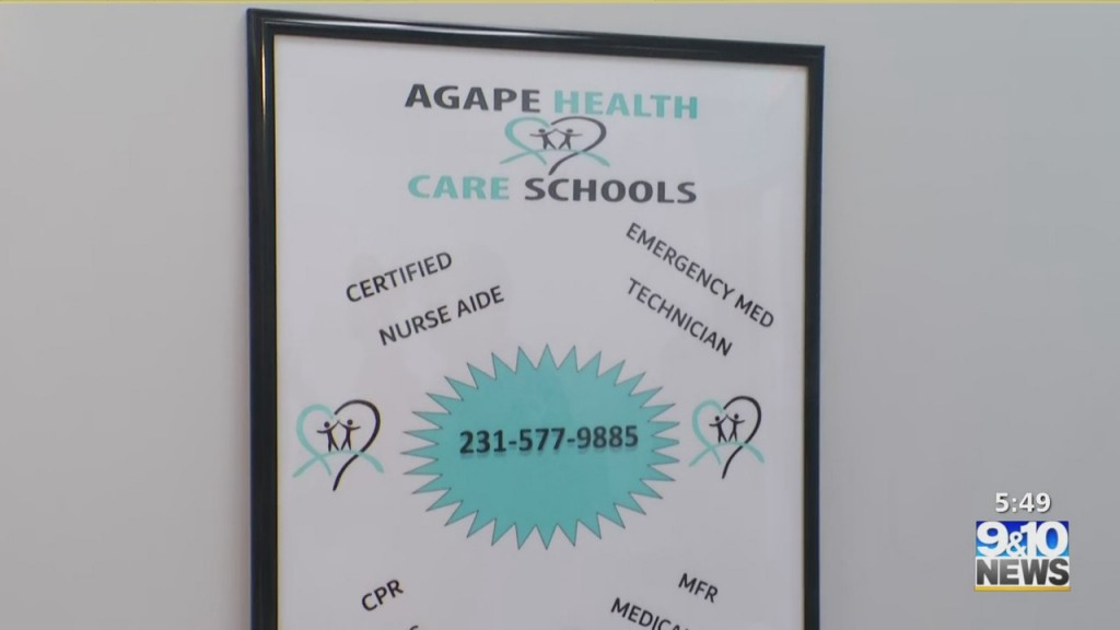 Mtm On The Road: Agape Health Care Schools Looking To Recruit First Responders