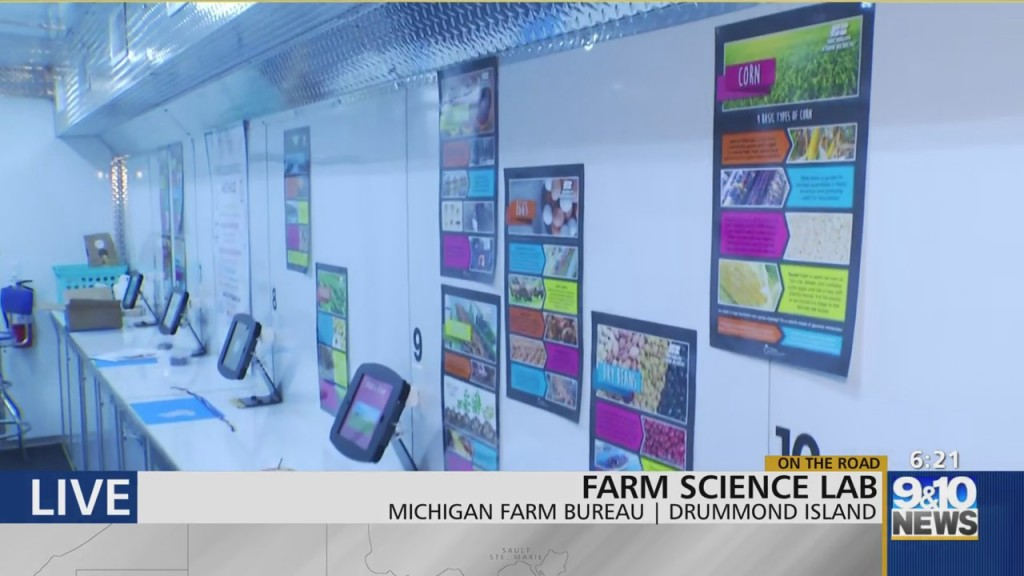 Mtm On The Road: Farm Science Program Educates Youth Statewide About Agriculture Impact