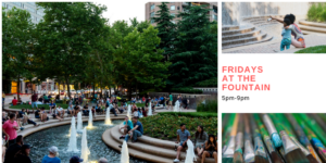 Fridays at the Fountain @ Crystal City Water Park