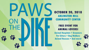 Paws on the Pike @ Arlington Mill Community Center