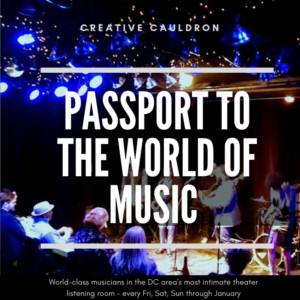 Jan Knutson, Steve Heberman, Steve Abshire @ Creative Cauldron