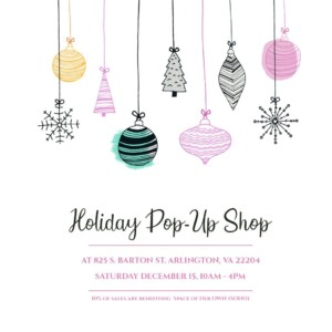 The Daily Domestic Holiday Pop-Up Shop @ 825 S. Barton St