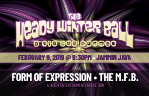 The Heady Winter Ball – A Tie Dye Formal featuring Form of Expression & The M.F.B. @ Jammin Java