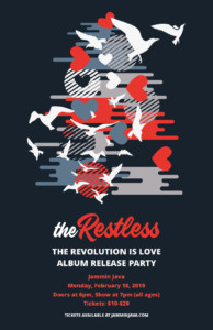 The Restless Album Release Concert @ Jammin Java