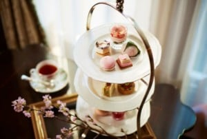 Cherry Blossom Tea @ Fyve Restaurant & Lounge at The Ritz-Carlton Pentagon City