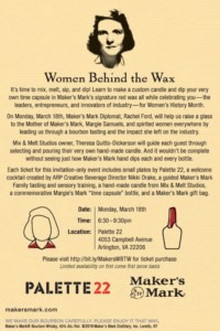 Women Behind the Wax @ Palette 22