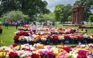 Memorial Day Flowers Tribute at Arlington National Cemetery @ Arlington National Cemetery