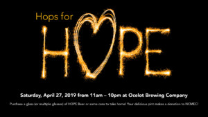 Hops for Hope 2019 @ Ocelot Brewing Company