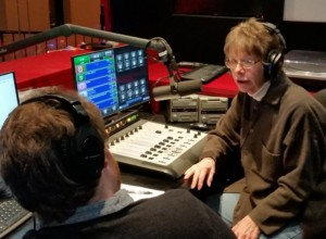 """Broadcasting """"Aging Matters"""" with Producer and Host Cheryl Beversdorf @ Arlington Central Library"""