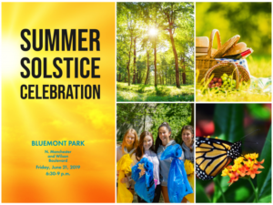 Summer Solstice Celebration @ Bluemont Park