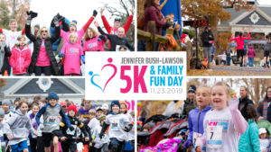 5th Annual Jennifer Bush-Lawson 5K & Family Fun Day @ Knights of Columbus