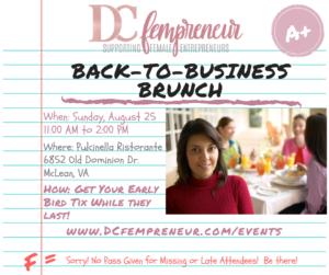 Female Entrepreneur Back-to-Business Brunch @ Pulcinella Ristorante