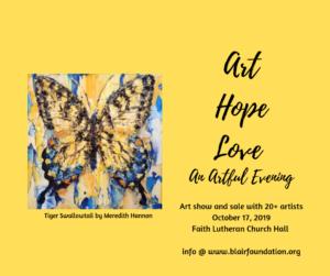 Art Hope Love: An Artful Evening @ Faith Lutheran Church