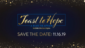 Toast to Hope: A Blue Tie Affair for SCAN of Northern Virginia @ Army Navy Country Club