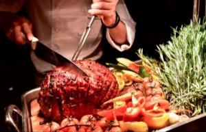 Christmas Day Dinner @ fyve Restaurant Lounge at The Ritz-Carlton, Pentagon City