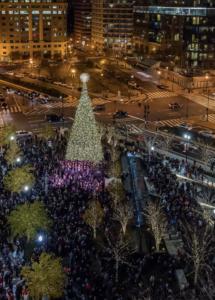2019 CityCenterDC Holiday Tree Lighting @ The Park at CityCenter